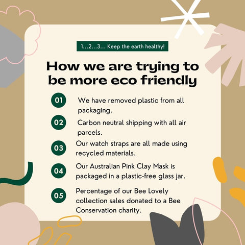 eco friendly and sustainable changes