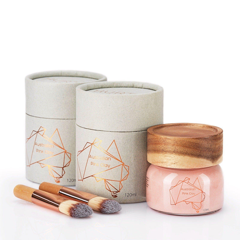 Australian Pink Clay Mask double bundle