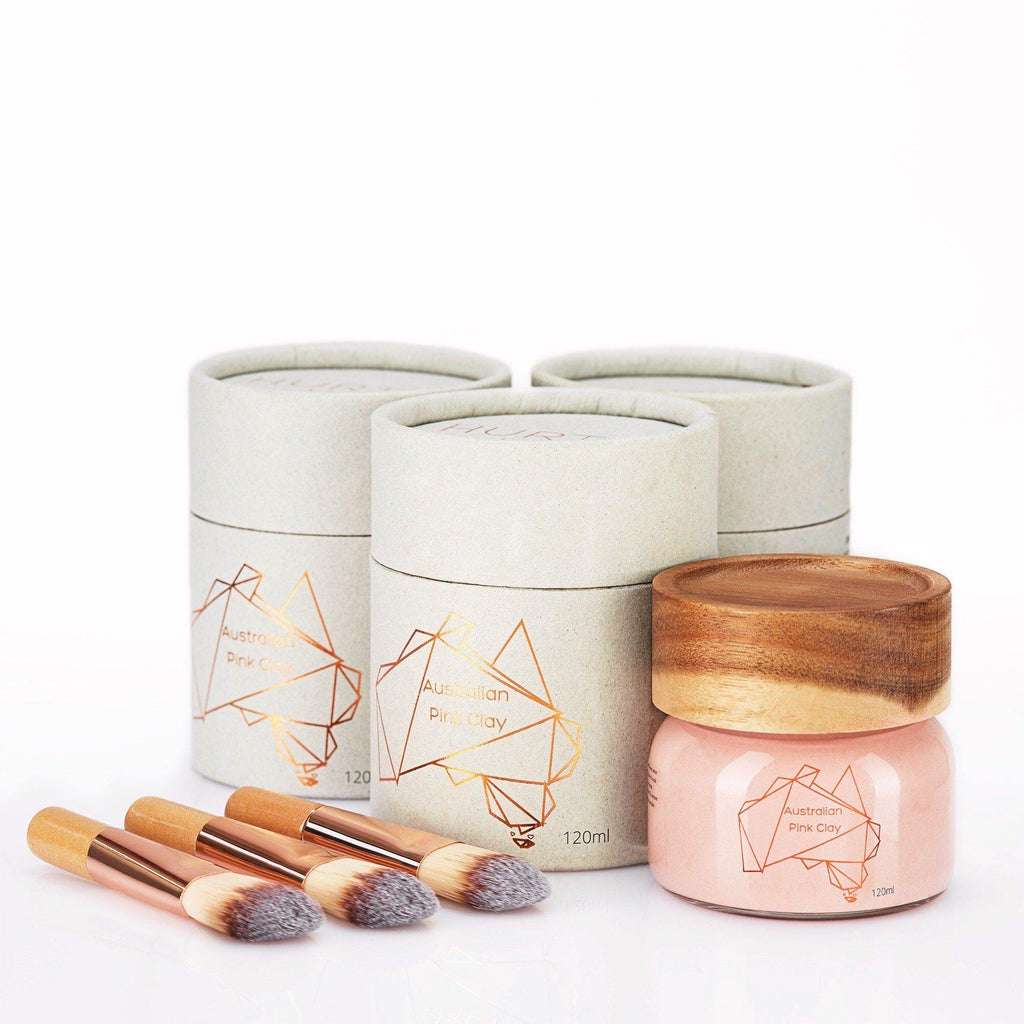 Australian Pink Clay Mask triple bundle