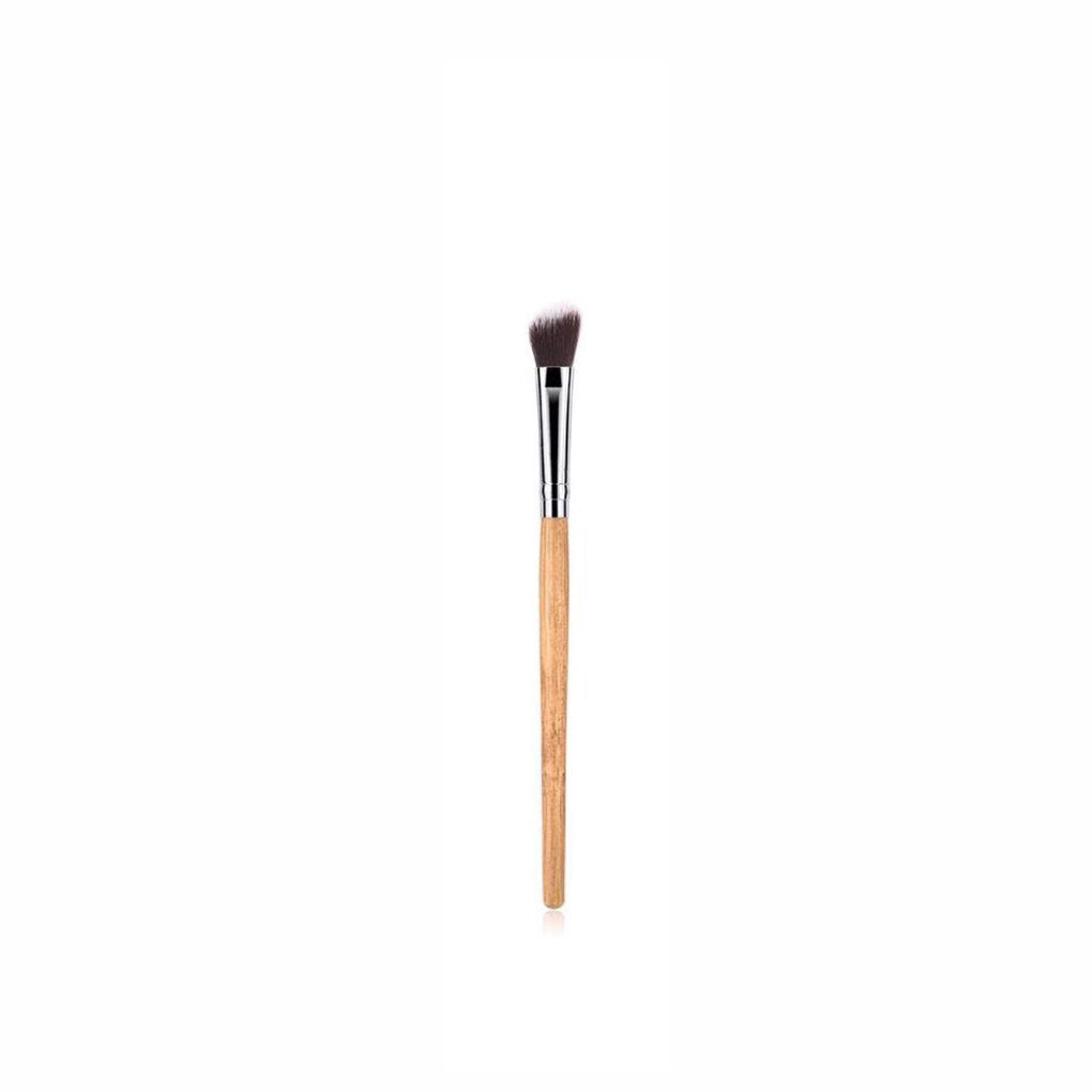 Vegan Eyeshadow Blender Makeup Brush- Bamboo and Silver Makeup Brushes Hurtig Lane