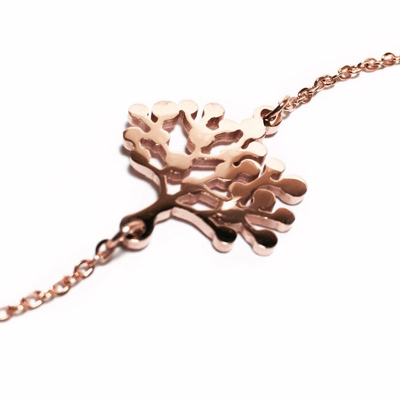 Rose gold vegan, ethical bracelet