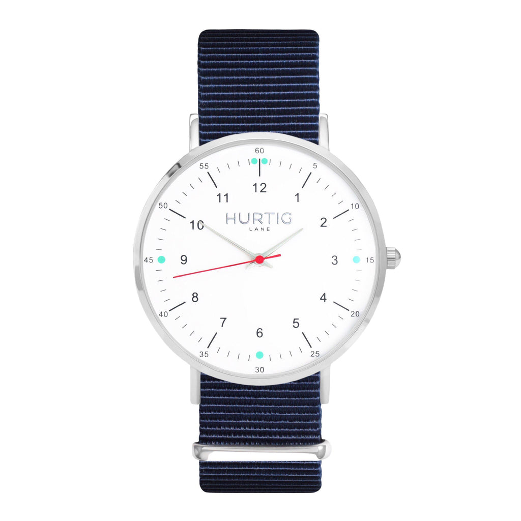 men's nato blue watch