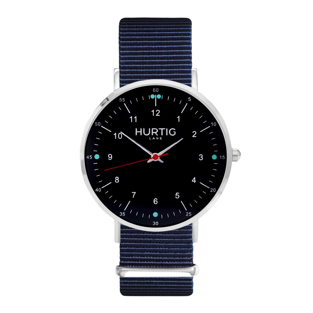 men's vegan nylon watch