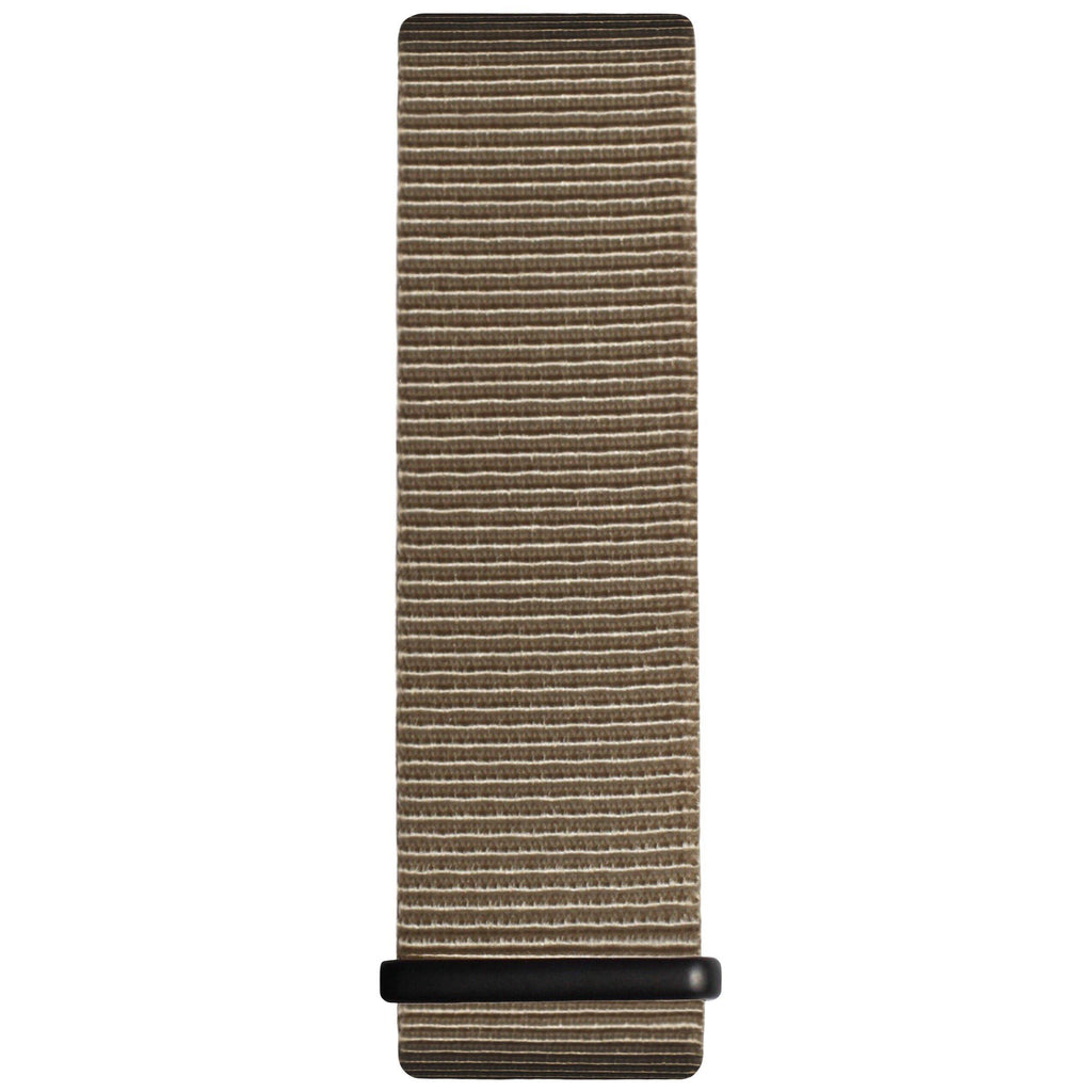 Sand and Black Nylon Nato Strap - Hurtig Lane - sustainable- vegan-ethical- cruelty free