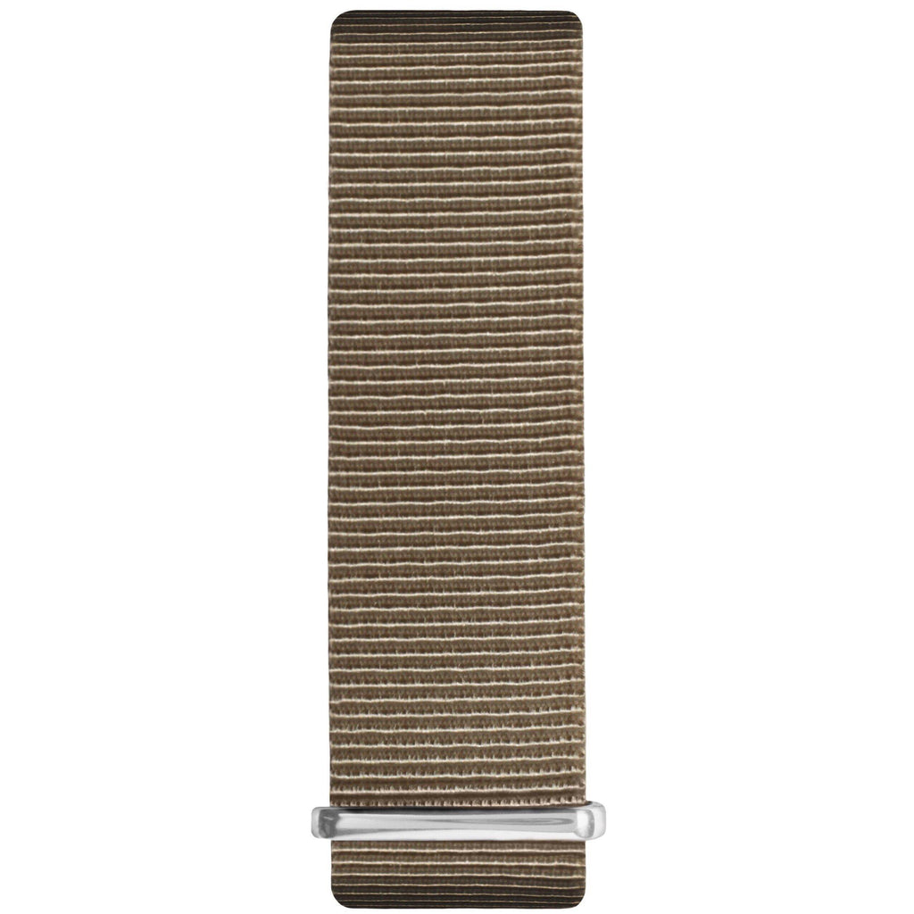 Sand and Silver Nylon Nato Strap - Hurtig Lane - sustainable- vegan-ethical- cruelty free