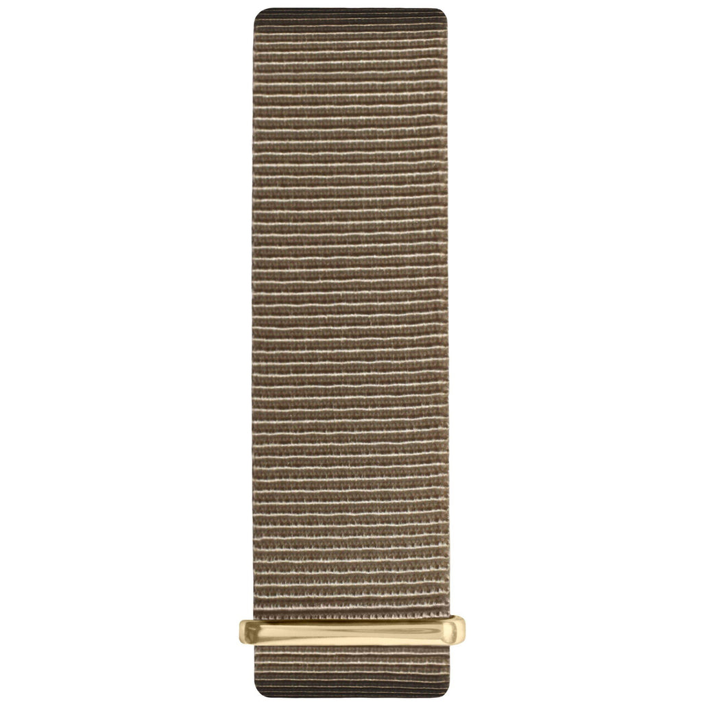Sand and Gold Nylon Nato Strap - Hurtig Lane - sustainable- vegan-ethical- cruelty free