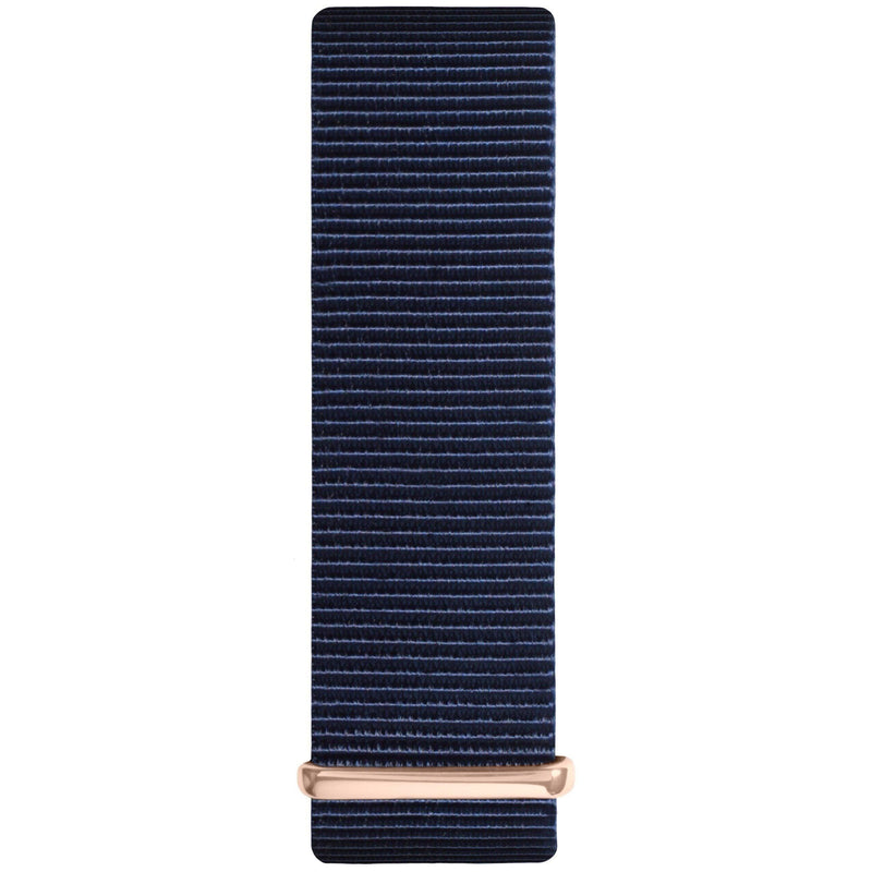 Ocean Blue and Black Nylon Nato Strap watch strap Hurtig Lane Vegan Watches