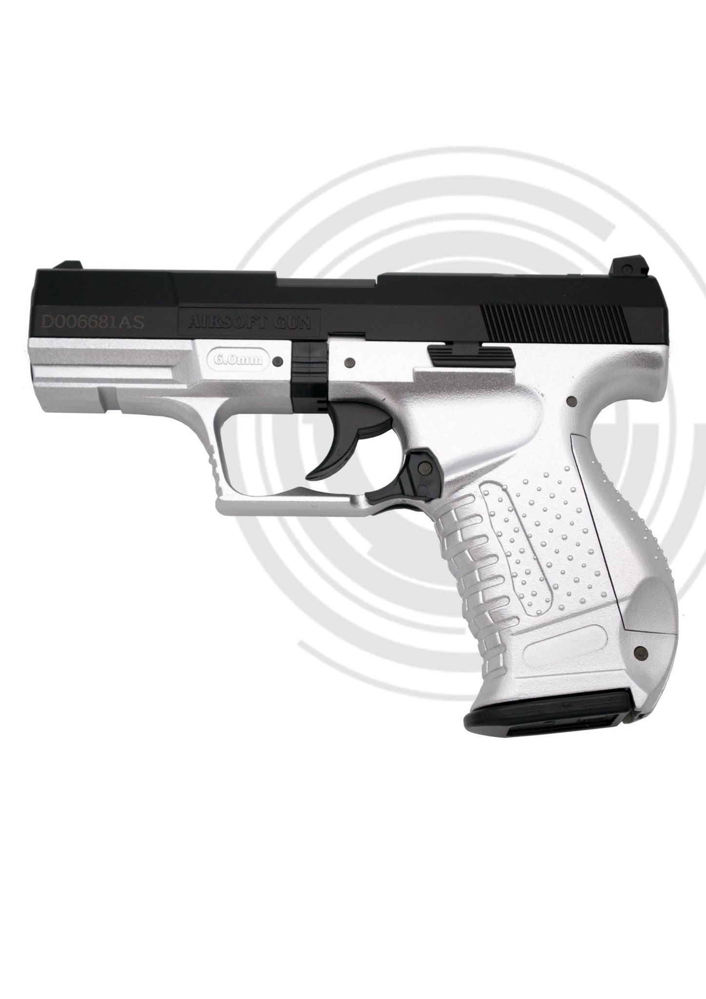 Pistola Airsoft Muelle (Bolas PVC 6mm) 120 BC