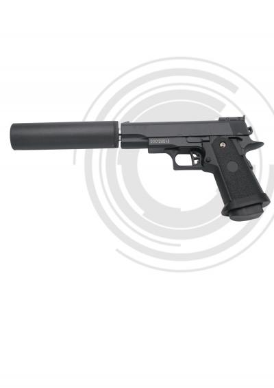 Pistola Airsoft Muelle (Bolas PVC 6mm) G10 AN