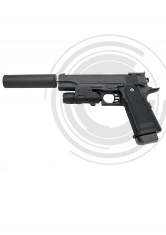 Pistola Airsoft Muelle (Bolas PVC 6mm) G6 A