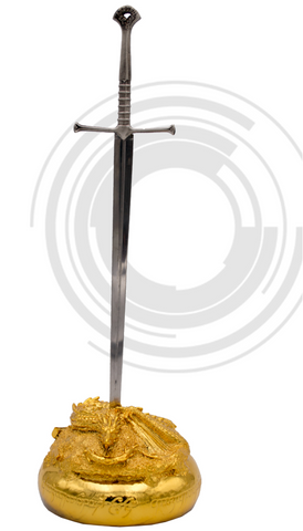 BASE MUSICAL CON MINI ESPADA ANDURIL - tossa medieval