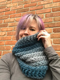 Starlight Zoie Cowl Pattern Knit Brim Crochet Version - PATTERN FILE ONLY