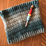 Starlight Zoie Cowl Pattern Crochet Version - PATTERN FILE ONLY