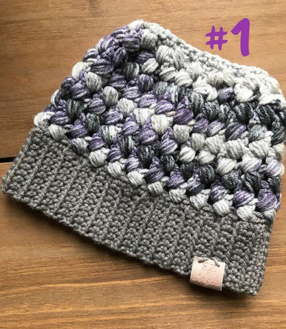 The Braidy Hat (Messy Bun) - Toddler, Child, Adult Hat