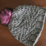 Cross Hatch Beanie