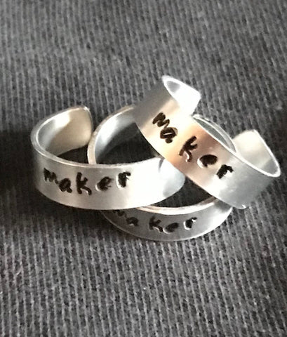 Maker Adjustable Ring