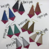 Triangle Sparkle Earrings