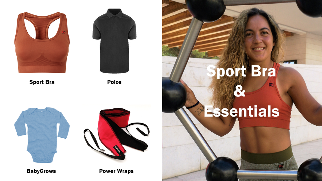 Customize your sport bra and training essentials