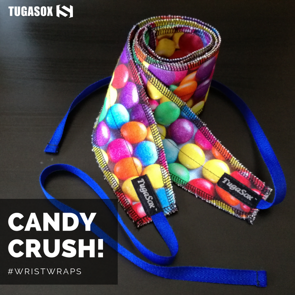Candy Bar Wrist Wraps