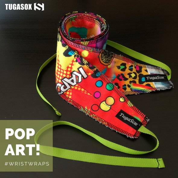 Pop Art Wrist Wraps