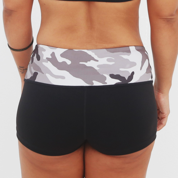 Camo Shorts - Ladies