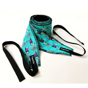 Blue Toucan Wrist Wraps