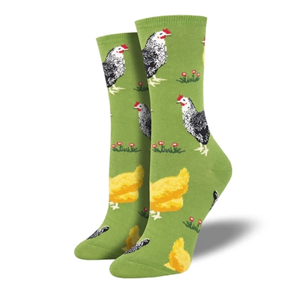 Bock Bock - Ladies Crew socks