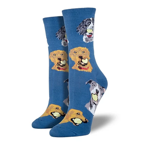 Ball Dog - Ladies Crew socks