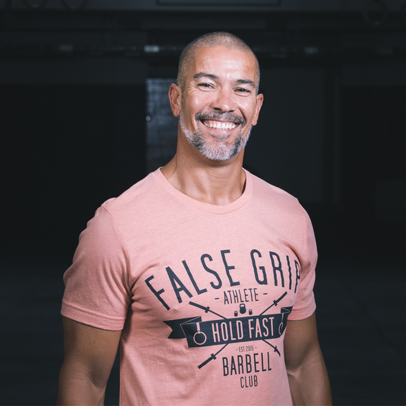 Barbell Club - Men T-Shirt by False Grip