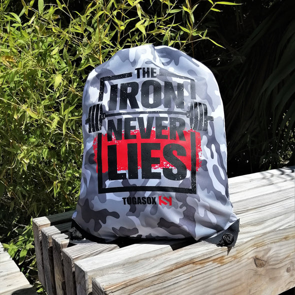 Box Bag - The Iron Never Lies | Gym bag - The Iron Never Lies