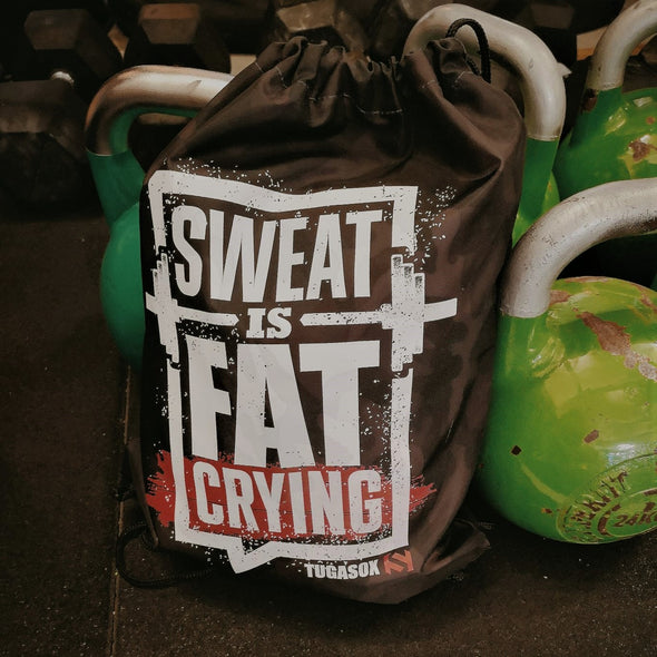 Box Bag - Sweat is fat crying | Gym bag - Sweat is fat crying