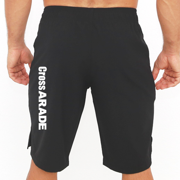 Calções Masculinos - Black - Cross Arade | Customized Men Shorts - Cross Arade - Black