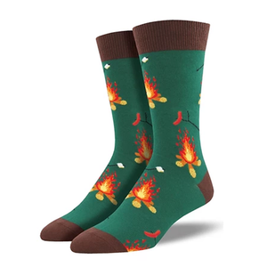 Camp Fire - Men Crew socks