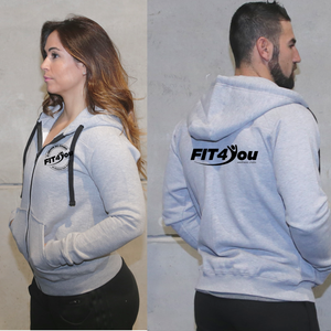 Casacos Unisexo - Fit4You | Unisex Full zipper hoodies - Fit4You