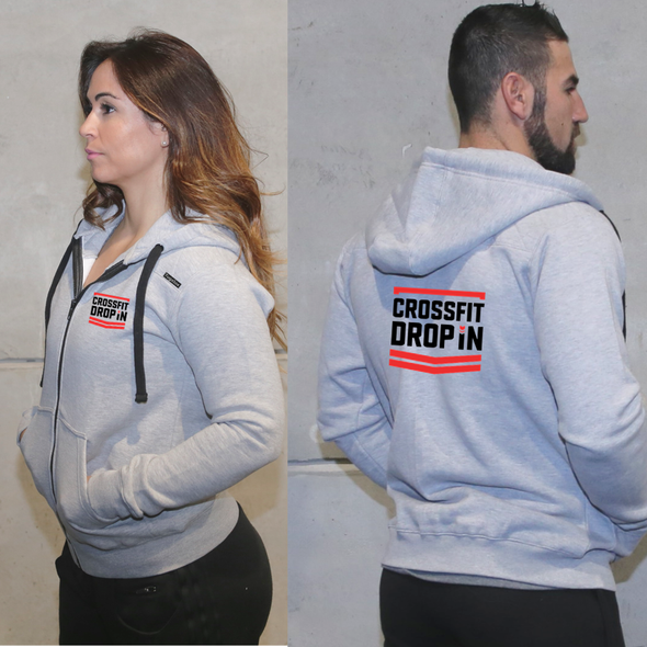 Casacos Unisexo - CrossFit Drop In | Unisex Full zipper hoodies - CrossFit Drop In