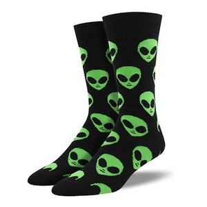 We come in peace Men Crew socks