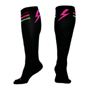 Pink Thunder Knee-High socks