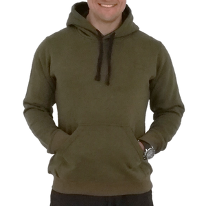 Pullover Hoodie Army Green - Unisexo  | Army Green Pullover Hoodie - Unisex