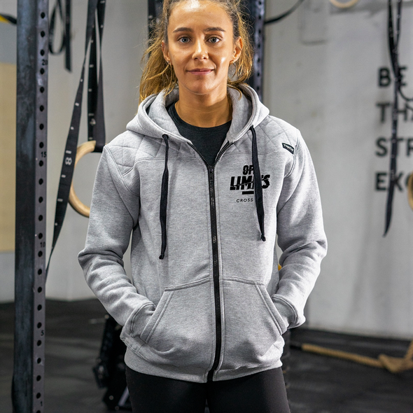 Casacos Unisexo - Grey - Off Limits CrossFit | Unisex Zip-Up hoodies- Grey- Off Limits CrossFit