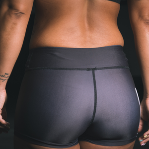 "Grizzlee Black Shorts - ""Wild"" Collection by False Grip"