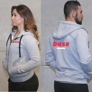 Casacos Unisexo - Base | Unisex Full zipper hoodies - Base
