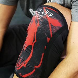 Joelheiras Wild Bear (Black/Red) | Wild Bear - Knee sleeves (Black/Red)