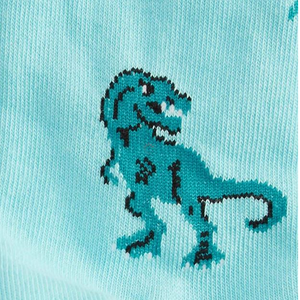 Land of the Dino Kids crew socks (3-6 yrs)