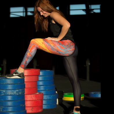 Lava Flow Leggings by False Grip