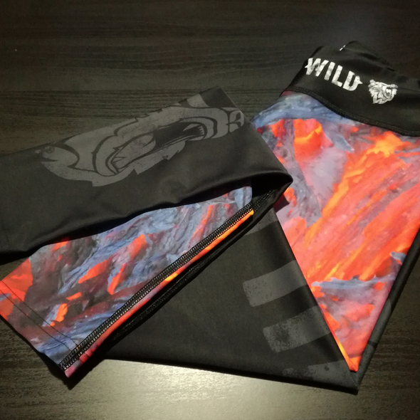 "Lava Flow Leggings - ""Wild"" collection by False Grip"