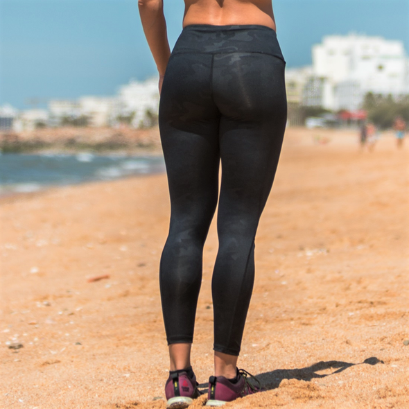 Leggings Black Camo | Black Camo Leggings