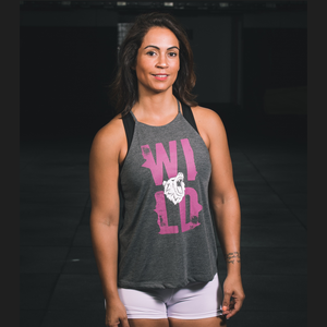 "Ladies Icon Tank- ""Wild"" by False Grip"