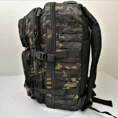 Mochila Mil-Tec Laser Cut Assault Pack - Multicam | Backpack Mil-Tec Laser Cut Assault Pack - Multicam