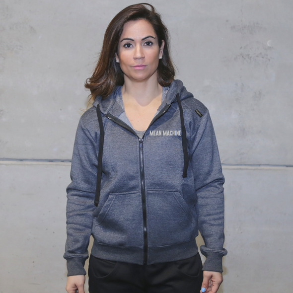 Casacos Unisexo - D. Grey - Mean Machine | Unisex Zip-Up hoodies- D. Grey - Mean Machine