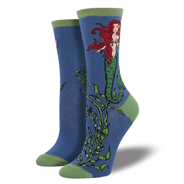 Mermaid  - Ladies Crew socks